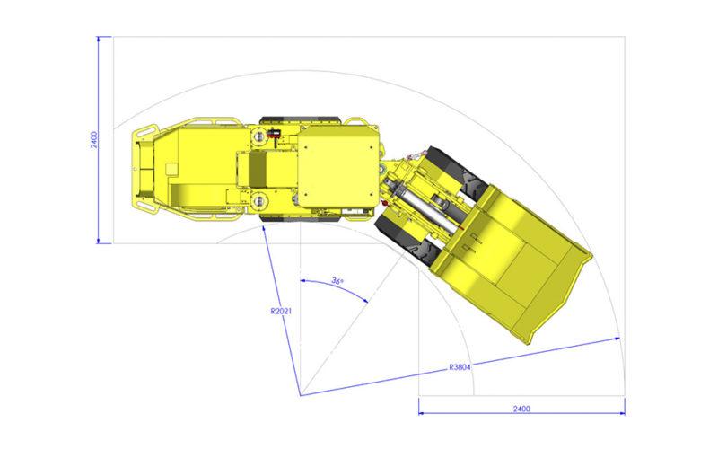 mine truck diagram