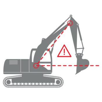 excavator diagram