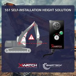 excavator height settings